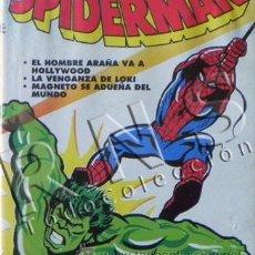 Cómics: VHS EPISODIOS HOMBRE ARAÑA 1 CONTRA LA MASA PERSONAJE DE CÓMIC Y DIBUJOS ANIMADOS SPIDERMAN HULK. Lote 26962048