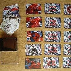Cómics: SPIDERMAN. PLAYING CARDS. MARVEL. MINI BARAJA DE CARTAS DE POKER ( 5 X 7 CM.). Lote 28228415