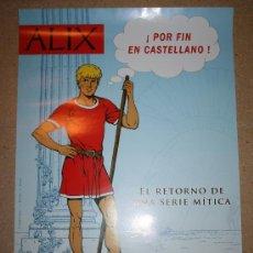Cómics: POSTER - ALIX - APROX 49 X 69 - NETCOM2. Lote 28250911