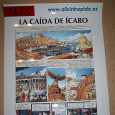 Cómics: POSTER - ALIX - PÁGINA DE LA CAIDA DE ÍCARO - APROX 50 X 71 - NETCOM2. Lote 28250913