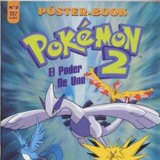 Cómics: POKÉMON - POSTER-BOOK Nº 2 - CON 32 POSTERS DIFERENTES - OFICIAL NINTENDO. Lote 56221618