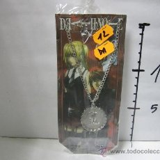 Cómics: DEATH NOTE COLGANTE. Lote 30782588