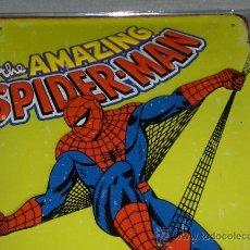 Cómics: PLACA CHAPA POLICROMADA EN RELIEVE DE THE AMAZING SPIDERMAN 30X20 CMS. PRECIOSA, NUEVA Y DIFÍCIL!!!!. Lote 30943388