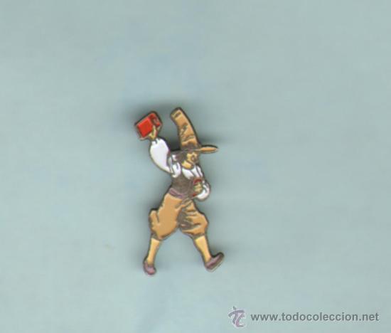 TEBEOS-COMICS GOYO - PIN - EL TREMENDO TOBI - METALICO - RARISIMO *BB99 (Tebeos y Comics - Comics Merchandising)