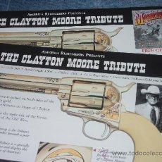 Cómics: EL LLANERO SOLITARIO Y CLAYTON MOORE. MEMORABILIA. Lote 32654362