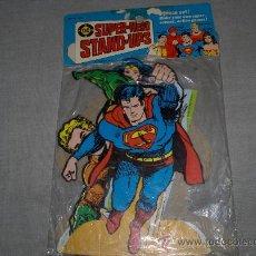Cómics: SET CON 5 FIGURAS DE CARTULINA SIN ABRIR. DC SUPERMAN, SHAZAM, FLASH, WONDER WOMAN Y AQUAMAN.. Lote 36284292