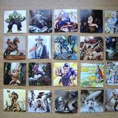 Cómics: 20 IMANES FLEXIBLES. 7 X 7 CM. PERSONAJES DEL COMIC: DOC SAVAGE, SPIRIT, HOMBRE ENMASCARADO, CONAN,. Lote 37913068