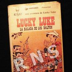 Cómics: VHS LUCKY LUKE LA BALADA DE LOS DALTON - PERSONAJE D CÓMIC PELÍCULA DIBUJOS ANIMADOS MORRIS GOSCINNY. Lote 39397317
