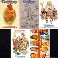 Cómics: OTROS GOYO - LOTE DE CINCO ALMANAQUES DE PACO NAJERA - RARISIMOS - EDICION LIMITADA *EE99. Lote 40087568