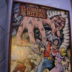 Cómics: POSTER DE EL COMISARIO DE HIERRO - ENMARCADO . Lote 41051523