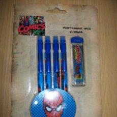 Fumetti: SPIDERMAN - PACK DE PORTAMINAS CON MINAS DE MARVEL. Lote 42689199