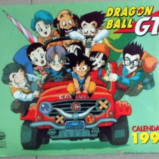 Cómics: CALENDARIO ANTIGUO 1999 DRAGON BALL GT COMICS POSTERS SON GOKU GIRU BABY A-17,... Lote 43449409