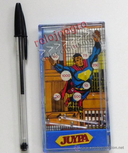 JUEGO MAGNÉTICO JUYPA BOLITAS - SUPERMAN - PERSONAJE DE CÓMIC Y CINE ¿ AÑOS 70 80 ?- JUGUETE VINTAGE (Tebeos y Comics - Comics Merchandising)