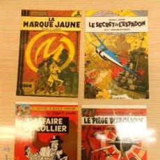 Cómics - postal comic coleccion: jacobs blake et mortimer marque jaune ed limitada francesa lote 4 postal na. - 44787136