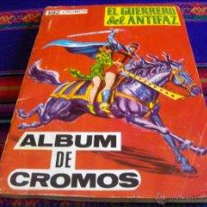 Cómics: ALBUM CROMOS EL GUERRERO DEL ANTIFAZ INCOMPLETO FALTAN 26 DE 192. MAGA 1979. BUEN ESTADO.. Lote 45513073