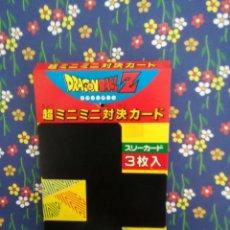Fumetti: DRAGON BALL PUBLICIDAD BLISTER DE MINI CARD. Lote 45965527
