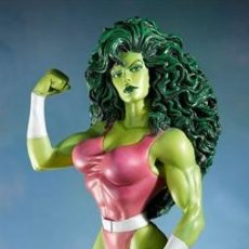 Cómics: SHE-HULK MINI BUST - RANDY BOWEN DESIGNS - MARVEL MINI BUSTO DE RESINA HULKA. Lote 46115642