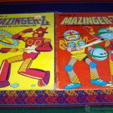 Cómics: COLOREA A MAZINGER Z NºS 1 Y 4. EDIPRINT 1978. BUEN ESTADO SIN PINTAR Y SIN USO. RAROS.. Lote 46556972