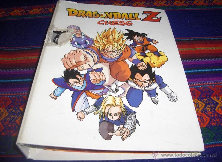 ARCHIVADOR DRAGONBALL DRAGON BALL Z CHESS CON CATÁLOGO Y PETICIÓN COMERCIAL. RARO. (Tebeos y Comics - Comics Merchandising)