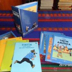 Cómics: LAS AVENTURAS DE TINTIN COMPLETA 25 DVD CON ESTUCHE. DIARIO EL MUNDO. BUEN ESTADO CON REGALO.. Lote 47583700