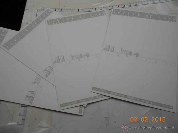 Cómics: Postal colección: lote 4 postales risky Jobs Javier de juan 1984 na.b - Foto 2 - 47589338
