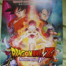 Cómics: POSTER CARTON DRAGON BALL SON GOKU BOLA DE DRAGON RESURRECTION FREEZER. Lote 208692020