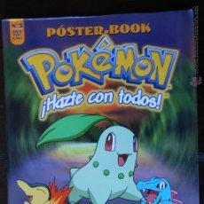 Cómics: POKEMON POSTER-BOOK Nº 3 - PLANETA - 32 POSTERS DISTINTOS (V). Lote 49664539