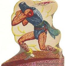 Cómics: PERSONAJES DE EL GUERRERO DEL ANTIFAZ - KADUL EL VERDUGO - EDITORIAL VALENCIANA. Lote 10005632