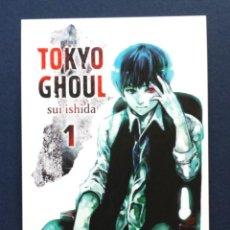 Cómics - FLYER Tarjeta Publicitaria Tipo Postal NORMA Editorial TOKYO GHOUL Sui Ishida 1 Manga - 57774396