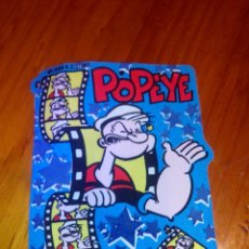 Cómics: POPEYE, PARCHE DE TEJIDO Y ADHESIVO .K.F.S.INC.1996. Lote 52357264