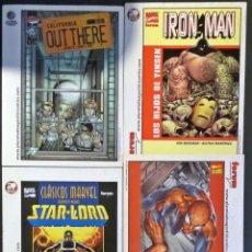 Cómics: 6 POSTALES DE DISTINTOS HEROES DEL COMICS , EDITADAS EN 2L AÑO 2002. VER FOTOS DE DETALLE. Lote 53148065