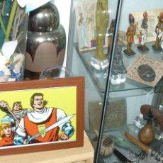 Cómics: TEBEOS-COMICS GOYO - EL CAPITAN TRUENO - LAMINA ENMARCADA *AA99. Lote 53741064