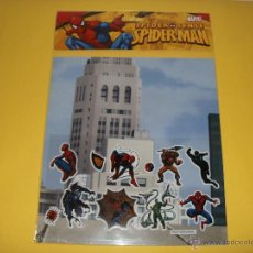 Cómics: PAGATINAS SPIDER SENSE SPIDERMAN MARVEL 2009. Lote 53892309