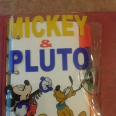 Cómics: AGENDA MICKEY Y PLUTO. Lote 53902940