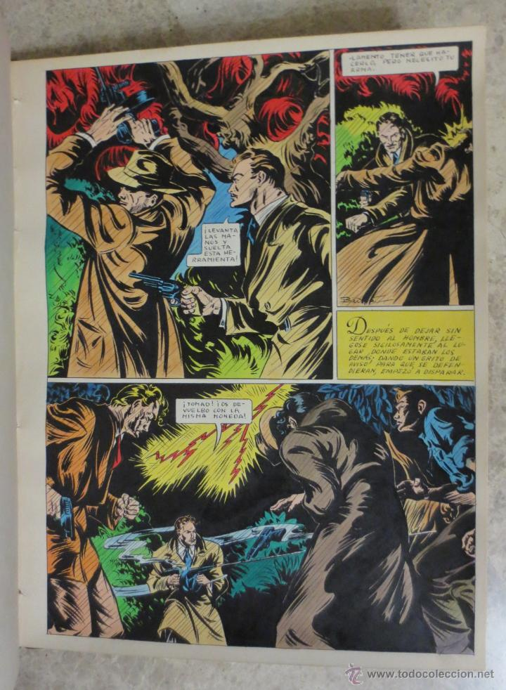 PAGINA ORIGINAL ENRIC BADIA ROMERO AÑO 1944 COMIC ART PAGE (Tebeos y Comics - Comics Merchandising)