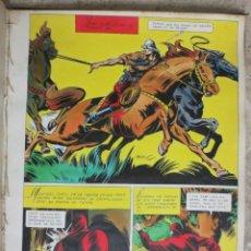 Cómics: PAGINA ORIGINAL ENRIC BADIA ROMERO AÑO 1944 COMIC ART PAGE. Lote 54065957