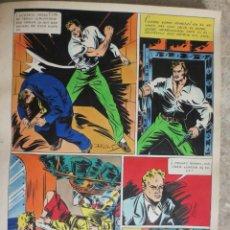 Cómics: PAGINA ORIGINAL ENRIC BADIA ROMERO AÑO 1944 COMIC ART PAGE. Lote 54065990