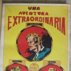 Cómics: PAGINA ORIGINAL ENRIC BADIA ROMERO AÑO 1944 COMIC ART PAGE. Lote 54066042