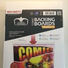 Cómics: COMIC BACKING BOARDS GOLDEN SIZE - CARTONES PARA CÓMICS GOLDEN - ULTIMATE GUARD. Lote 54096099