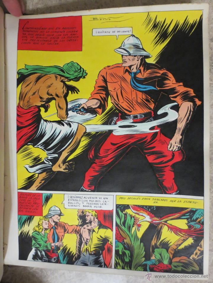 PAGINA ORIGINAL ENRIC BADIA ROMERO AÑO 1944 (Tebeos y Comics - Comics Merchandising)