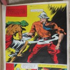 Cómics: PAGINA ORIGINAL ENRIC BADIA ROMERO AÑO 1944. Lote 54207398
