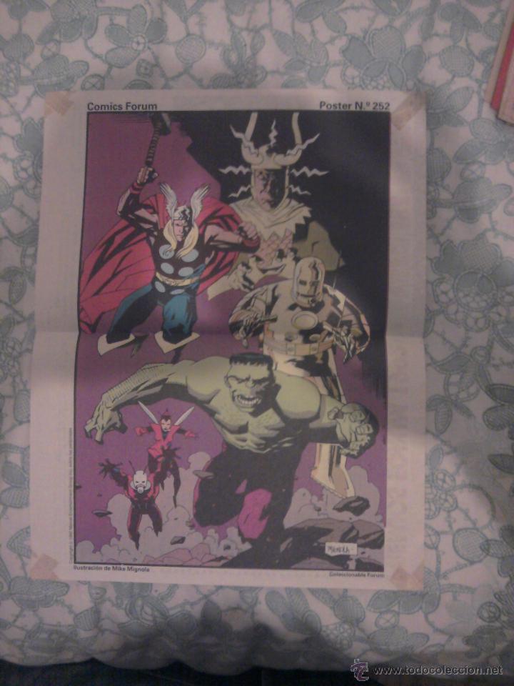 POSTER FORUM LOS VENGADORES MIKE MIGNOLA (Tebeos y Comics - Comics Merchandising)