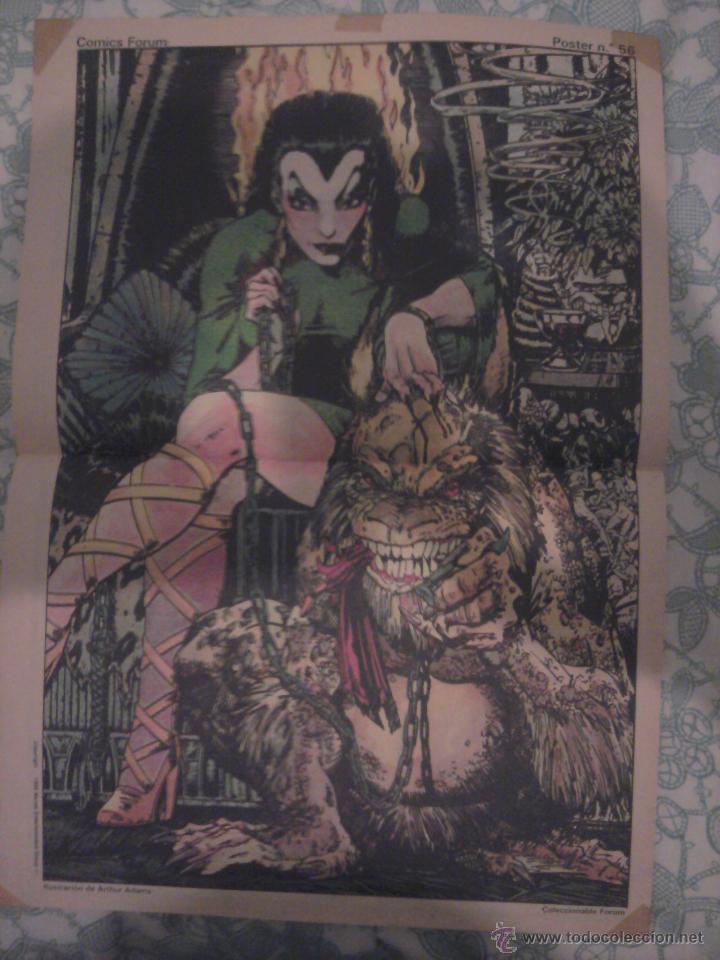 POSTER FORUM UMAR ARTHUR ADAMS (Tebeos y Comics - Comics Merchandising)