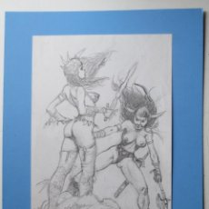 Cómics: DIBUJO ORIGINAL DE BLAS GALLEGO DRAWING ORIGINAL ART. Lote 54306675