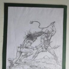 Cómics: DIBUJO ORIGINAL CONAN DE BLAS GALLEGO DRAWING ORIGINAL ART. Lote 54307033