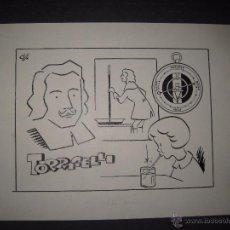 Cómics: ORIGINAL A TINTA - CLLO - CARBONELL - TORRICELLI - (V- 4295). Lote 54350789
