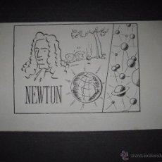 Cómics: ORIGINAL A TINTA -CARBONELL - CLLO - NEWTON - (V- 4296). Lote 54350813