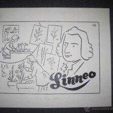 Cómics: ORIGINAL A TINTA - CARBONELL- CLLO - LINNEO - (V- 4297). Lote 54350831