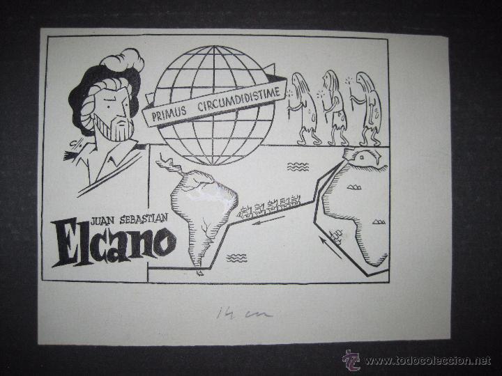 ORIGINAL A TINTA - CLLO - CARBONELL - ELCANO - (V- 4303) (Tebeos y Comics - Comics Merchandising)