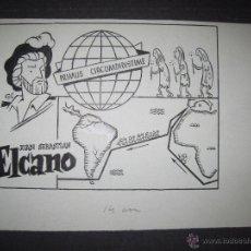 Cómics: ORIGINAL A TINTA - CLLO - CARBONELL - ELCANO - (V- 4303). Lote 54351004